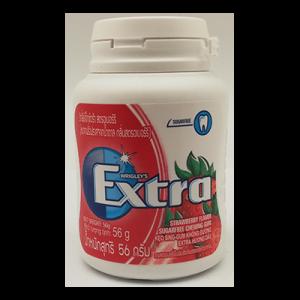 EXTRA XYLITOL STRAWBERRY BOTTLE 1X56G