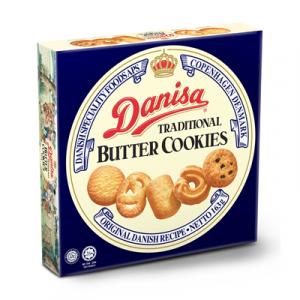 DANISA BUTTER COOKIES 1X163G
