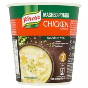 KNORR CUP MASHED POTATO CHIC 1X26G