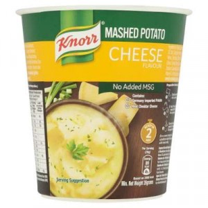 KNORR CUP MASHED POTATO CHEESE 1X26G