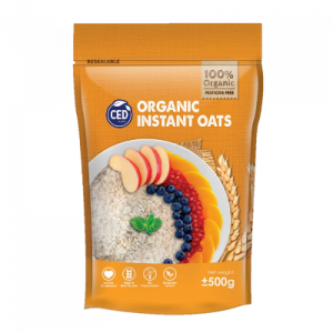 CED ORGANIC INST ROLLED OAT 1X500G