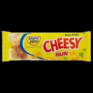 M/WHITE CHEESY BUN 1X55G