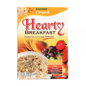 RADIANT ORG. HEARTY B/FAST 1 X 400G