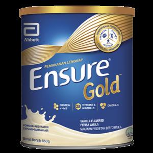 ENSURE GOLD VANILLA 1X850G