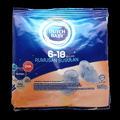 DUTCH BABY 6 - 18 MTH 1X350G