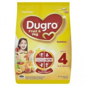 DUGRO STEP 4 FRUIT & VEGE 1X850G