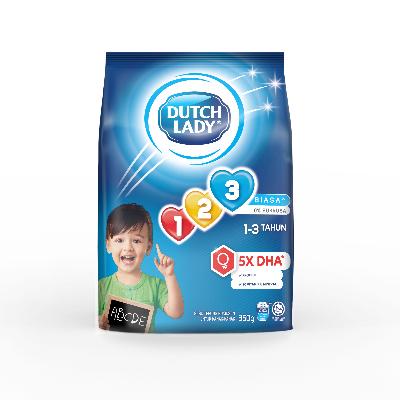DUTCH LADY GUM 123 PLAIN  1X850G