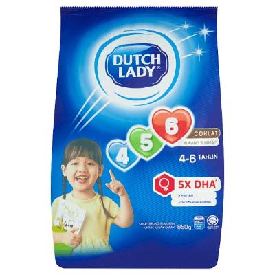 DUTCH LADY GUM 456 CHOC  1X850G
