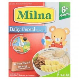 MILNA BABY CRL BRWN RICE & BANANA 1X120G