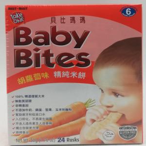 TAKE ONE BABY BITES CARROT 1X50G
