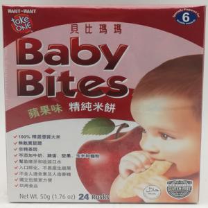 TAKE ONE BABY BITES APPLE 1X50G