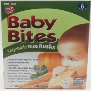TAKE ONE BABY BITES VEGE 1X50G