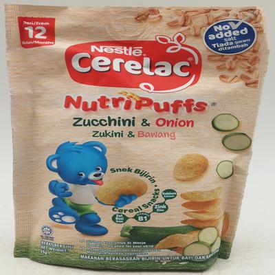 NESTLE CERELAC NUTRI ZUCCHINI 1 X 25G