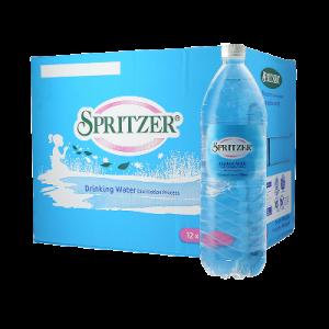 SPRITZER DISTILLED DRINKING WATER 12X1.5LTR