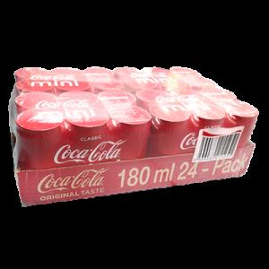 COCA COLA CAN CLASSIC MINI 24X180ML