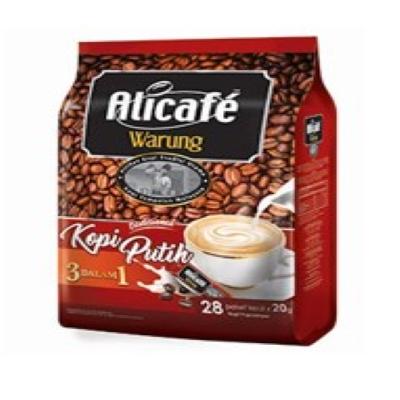 ALICAFE WARUNG  WHITE COFFEE 1X28X20G