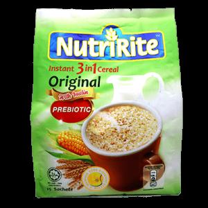 NUTRIRITE CEREAL 3IN1 ORIGINAL 1X15X28G