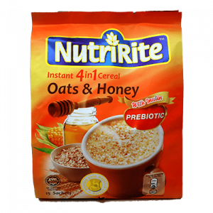 NUTRIRITE CEREAL 3IN1 OAT & HONEY 1X15X28G