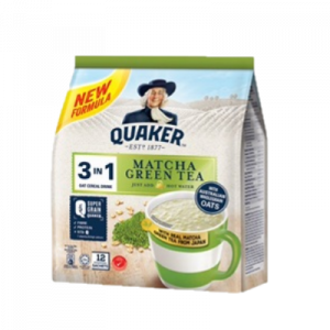 QUAKER MATCHA GREEN TEA 1X12X28G