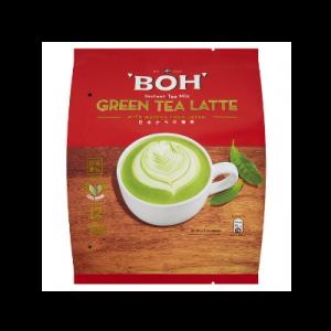 BOH GREEN TEA LATTE 1X12X27G