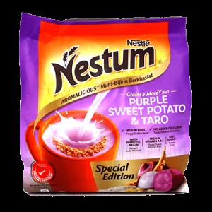 NESTUM 3IN1 PURPLE SWEET POTATO & TARO 1X10X27G