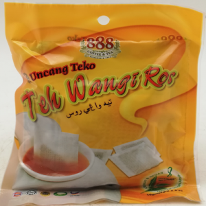 888 TEA POTBAG WANGI ROS 1X8'SX2G