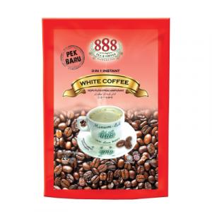 888 INSTANT WHITE COFFE 1X20'SX17G