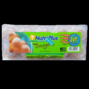 NUTRIPLUS OMEGA-3 EGGS 10S 1X10S