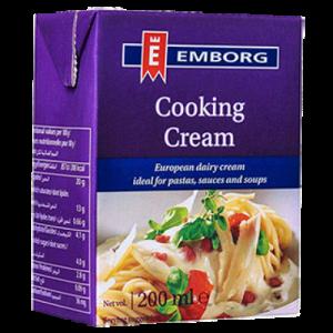 EMBORG FRENCH UHT COOKING CREAM1X200ML