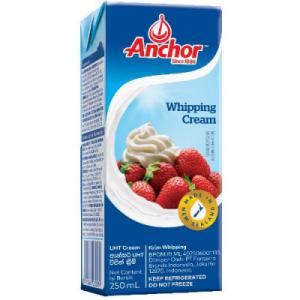 ANCHOR UHT WHIPPING CREAM 1X250G