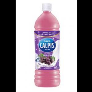 CALPIS YOGURT DRINK GRAPE 1X1L