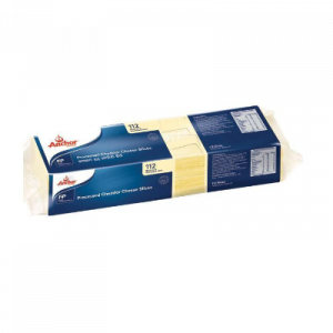 ANCHOR PRO/CHEDDAR CHEESE SLICES 112S 1X1290G