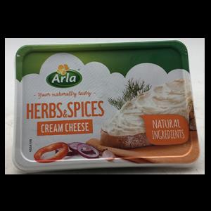 ARLA CREAM CHEESE HERBS & SPICES  1X150G