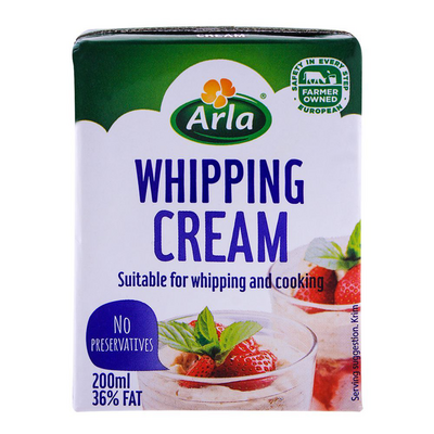 ARLA WHIPPING CREAM 1X200ML