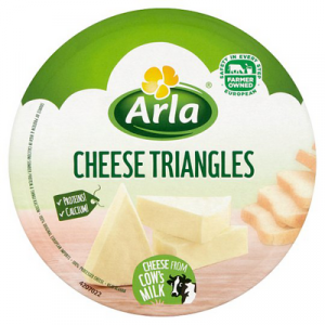 ARLA CHEESE TRIANGLES 1X140G