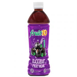 FRUIT 10 BLACKCURRANT FRUIT DRINK 350ML