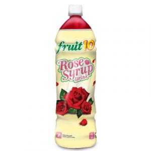 FRUIT 10 ROSE SYRUP 1.5L