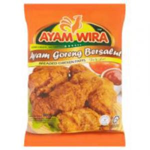 AYAM WIRA BREADED CHIC PARTS 1X800G