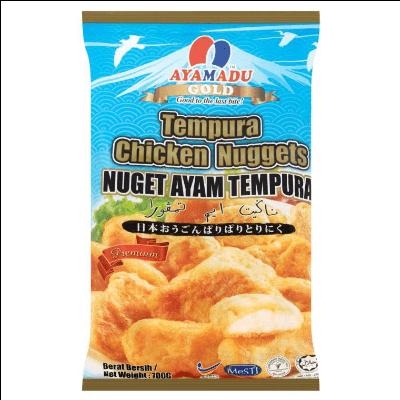 AYAMADU GOLD TEMPURA NUGGET 1X700G