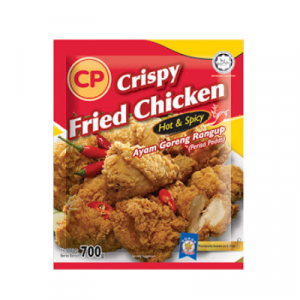 CP CRISPY FRIED CHICKEN HOT & SPICY 1X700G