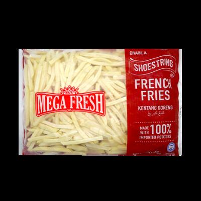 MEGA FRESH FRIES SHOESTRING A 1X1KG