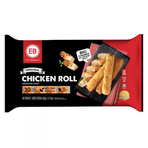 EB SOSSY CHICKEN ROLL 1X600G