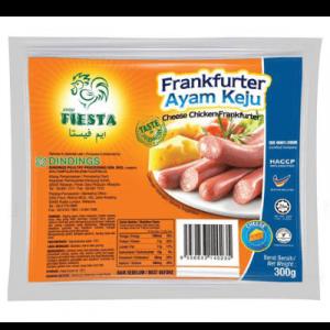 FIESTA CHEESE CHICKEN FRANKFURTER 1 X 300G