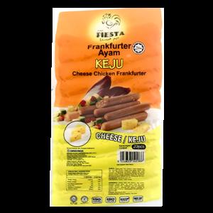 FIESTA CHEESE CHICKEN FRANKFURTER 1 X 20PCS