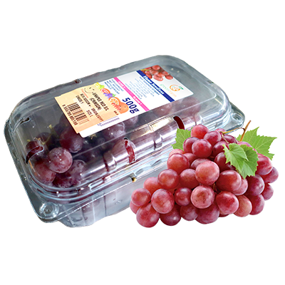 *GRAPES-RED SEEDLESS 500G
