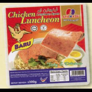 AYAMADU CHIC LUNCHEON MEAT 1X300G