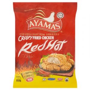 AYAMAS R/H CRISPY FRIED CHICKEN 1X850G