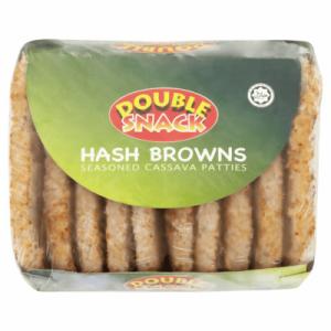DOUBLE SNACK CASSAVA HASH BROWN 1X620G