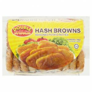 DOUBLE SNACK POTATO HASH BROWN 1X620G