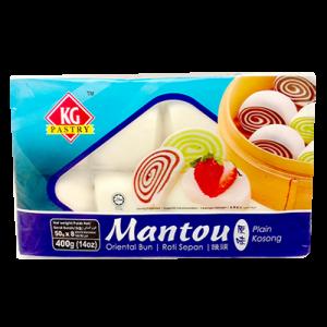 KG MANTOU  PLAIN 1X400G